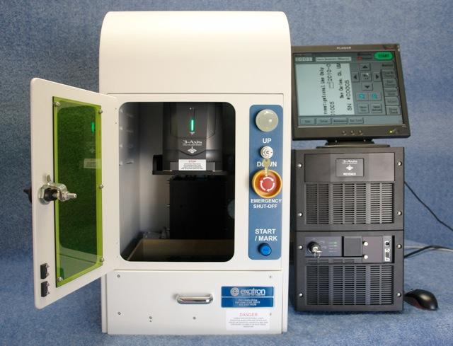 Exatron Desktop Laser Marker Marking Systems Enclosures