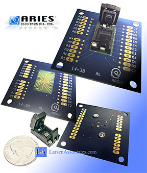 Test socket Breakout board
