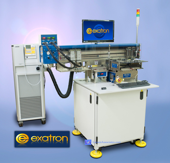 Exatron Tri-Temperature IC Handler Hot Cold Ambient -55C Chiller