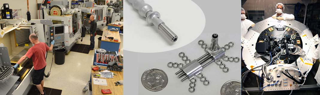 Precision design Manufacturing R&D instruments
